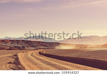 Scenic landscapes of Northern Argentina #559914337