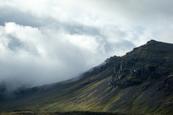 scenic mountainscapes in Iceland