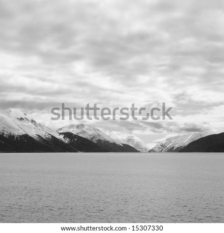 Scenic nature images of the Alaskan wilderness
