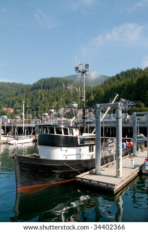 Scenic port of Ketchikan, Alaska