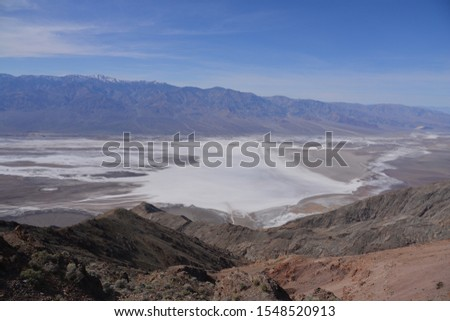 Scenic shot of Death Valley National Park, California, United States #1548520913