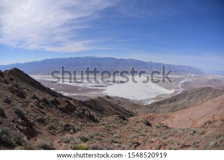 Scenic shot of Death Valley National Park, California, United States #1548520919