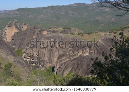 Scenic shot of mountain, Meteora, Greece #1548838979