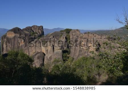 Scenic shot of mountain, Meteora, Greece #1548838985