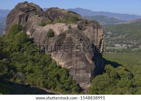 Scenic shot of mountain, Meteora, Greece #1548838991
