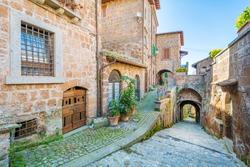Scenic sight in Barbarano Romano, medieval village in Viterbo Province, Lazio, Italy.