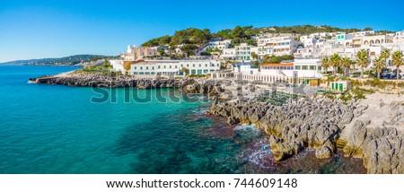 Shutterstock Scenic sight in Castro, in the Salento region of Puglia, Italy.