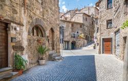 Scenic sight in Ronciglione, province of Viterbo, Lazio, central Italy.