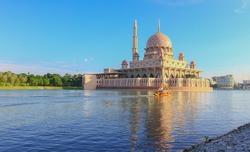 Scenic view at Putra Mosque at Putrajaya Malaysia
