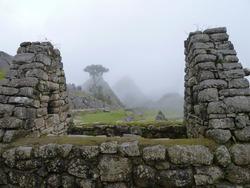 scenic view from Machu Pichu