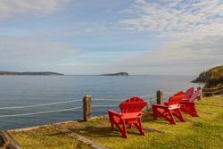 Scenic view (Highlands National Park, Cabot Trail, Cape Breton, Nova Scotia, Canada)