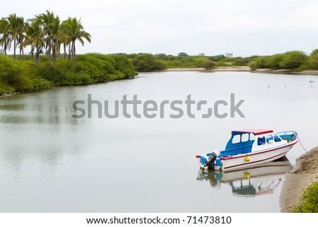 Scenic view in Puna island, Ecuador