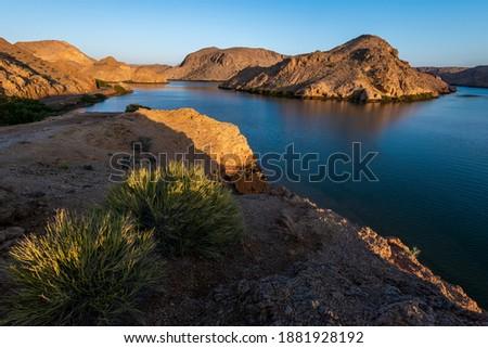 Scenic view of Bander al khairan, Sultanate of oman, Muscat Zdjęcia stock ©
