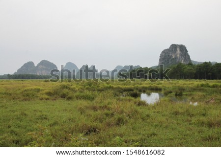 Scenic view of Club Med, Guilin, Guangxi, China