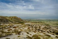 scenic view of Grassland National Park, Saskatchewan,Canada