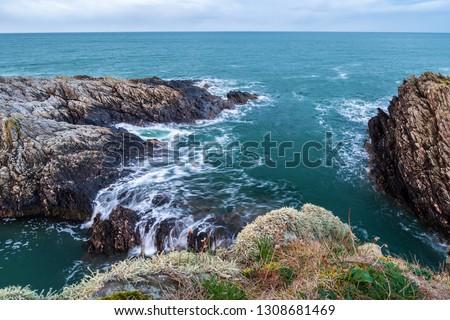 scenic view of sea against sky #1308681469
