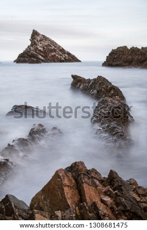 scenic view of sea against sky #1308681475
