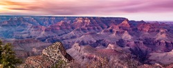Scenic View of the Grand Canyon, Arizona from the South Rim