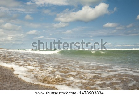 scenic view of the sea and waves #1478903834