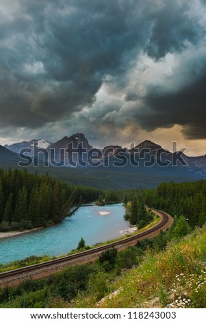 Scenic views, Banff National Park Alberta Canada