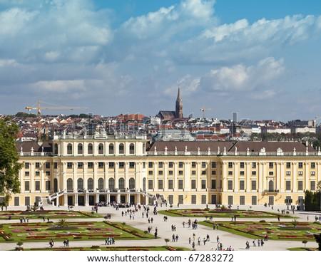 Sch�¶nbrunn / Schoenbrunn / Schonbrunn Palace - stock photo