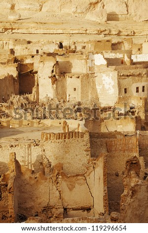 Schali ( Shali ) the old Town of Siwa on sunrise