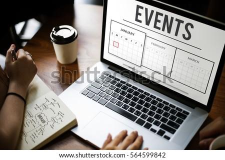 Schedule Agenda Planner Reminder Concept #564599842