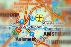 Schiphol, formally Amsterdam Airport Schiphol.