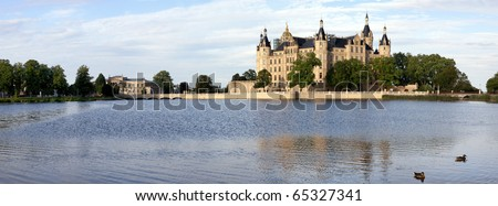 Schloss Schwerin Castle Chateau Castello
