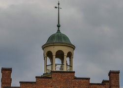Schmucker Hall Cupola, United Lutheran Seminary, Gettysburg Pennsylvania USA