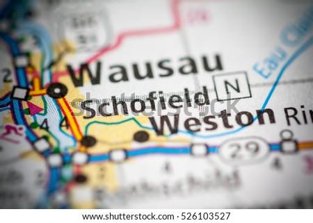 Schofield. Wisconsin. USA Stockfoto ©
