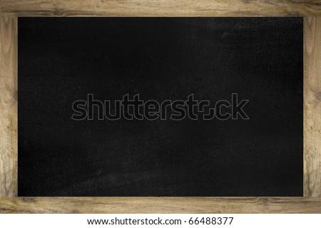 School blackboard - stock photo