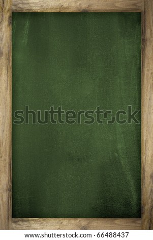 School blackboard