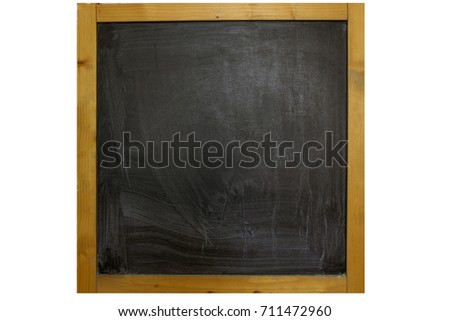 6c95f20f71031b School blackboard with frame wooden on isolated.  711472960 · Thank you! text  message in white chalk letters written on a school green old grungy