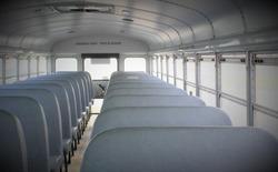 school bus interior background
