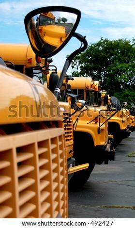 Schulen Sie Busse