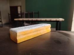 school, college black board yellow duster.