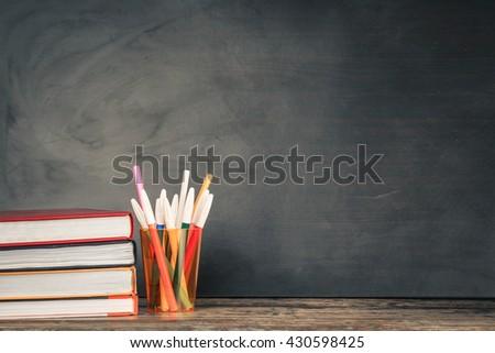 School desk #430598425
