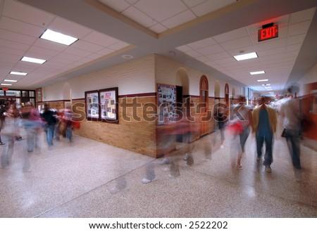 School Hallway 5