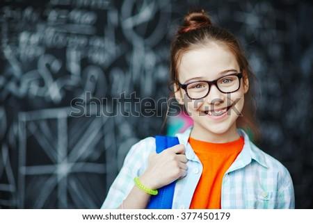 Schoolgirl Сток-фото ©