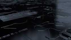 Sci-Fi Plane. 3d render of sci fi gate background