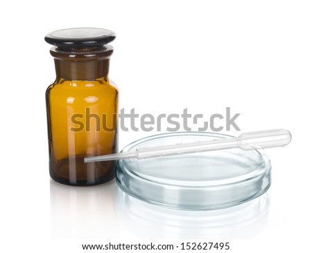Science and medical glassware and test tube, Chemical laboratory