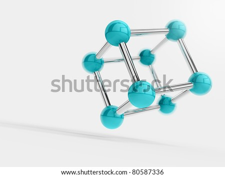 science object isolated on white