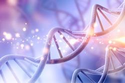 Science original biotechnology DNA illustration