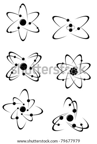 Science symbols and icons for medicine, biology, pharmacy and another scientific design, such a logo. Vector version also available in gallery