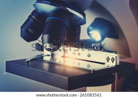 Scientific Biological Microscope
