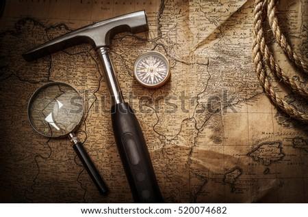 Scientific expedition background. #520074682