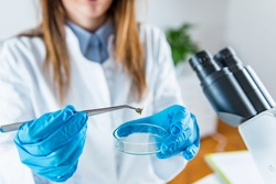 Scientific laboratory research