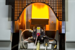 Scientists are using Atomic Absorption Spectroscopy (AAS) to analyze heavy metals in sample solutions.For example, element Pb, Fe, Mn, Ag, etc.
