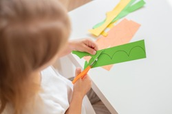 Scissor skills, preschools cutting practise worksheets.